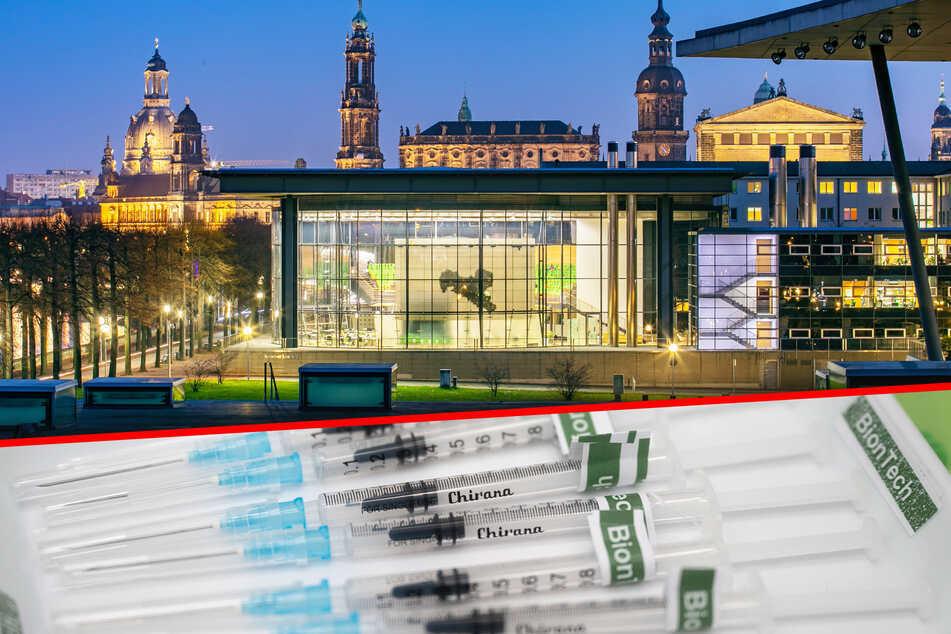 Im sächsischen Landtag wird aktuell mit BioNTech gegen Corona geimpft.