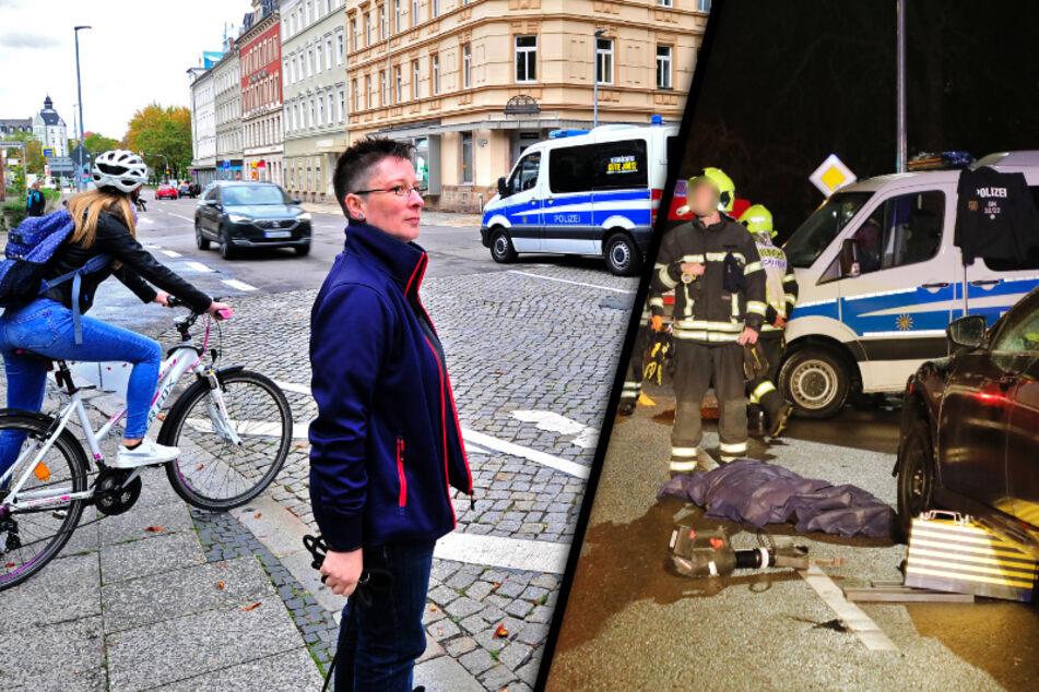 Unfallschwerpunkt am Brühl: Chemnitz will Georgstraße entschärfen