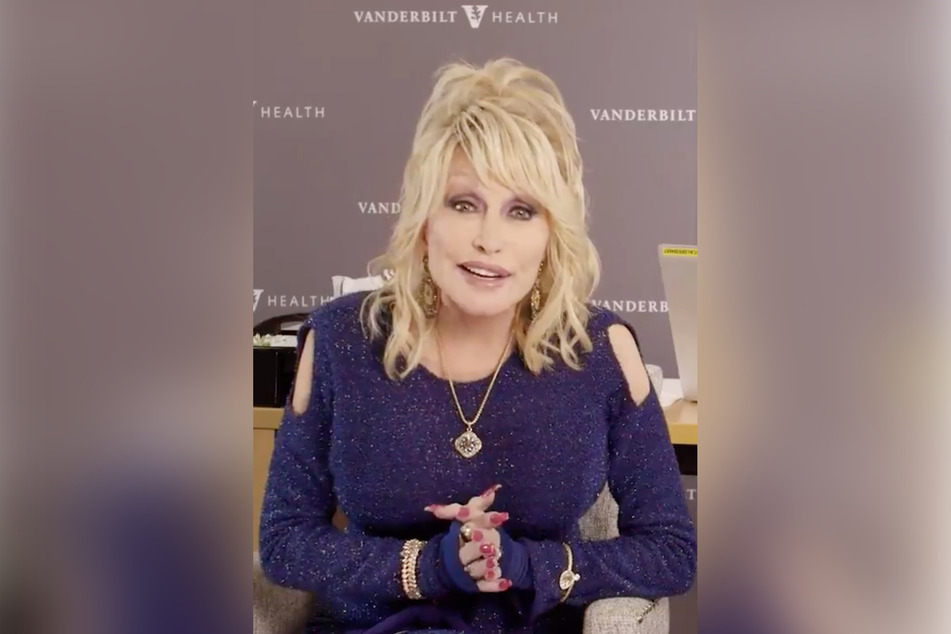 Dolly Parton helped fund the development of the Moderna vaccine.