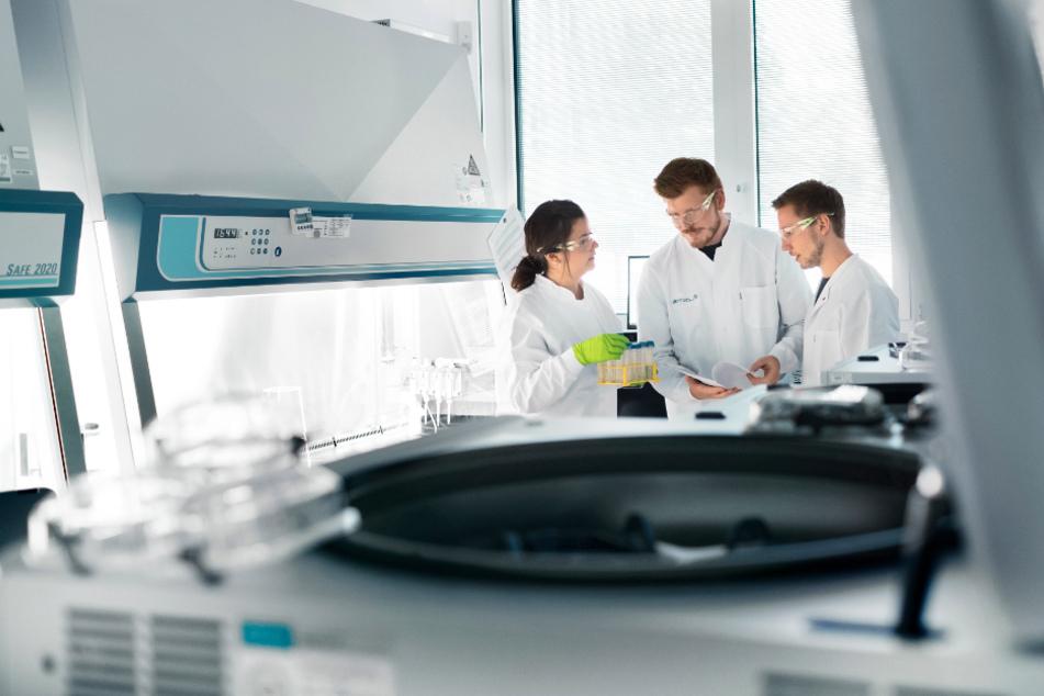 Biontech arbeitet an einem Impfstoff gegen das Coronavirus (Symbolfoto).