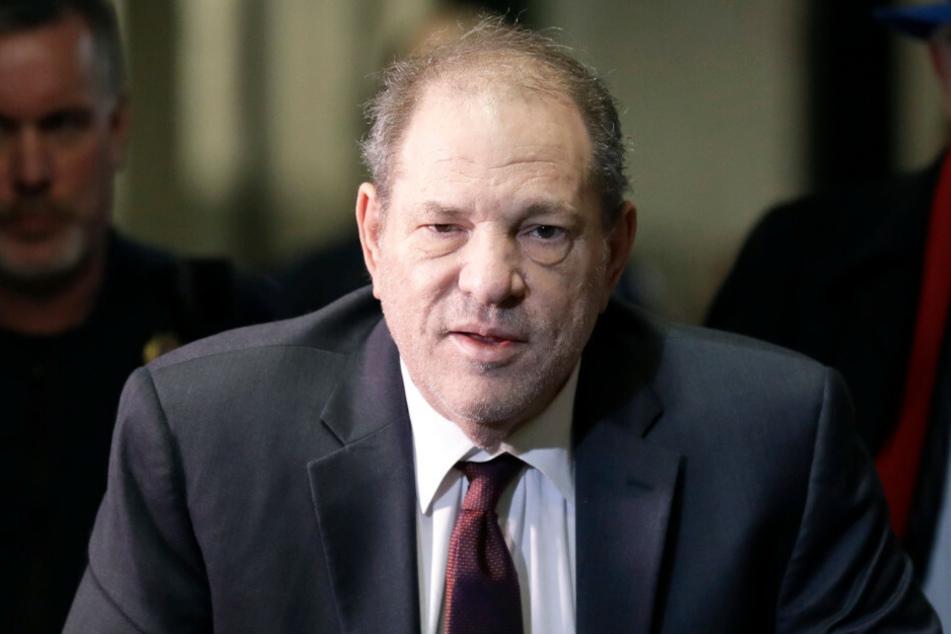Harvey Weinstein (68) sitzt seine Strafe derzeit in einem Gefängnis im Bundesstaat New York in den Vereinigten Staaten ab.
