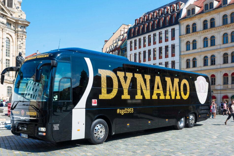 Der Mannschaftsbus der Dresdner muss in der kommenden Saison 19 Ziele anfahren, zwei mehr noch als in der Vorsaison.