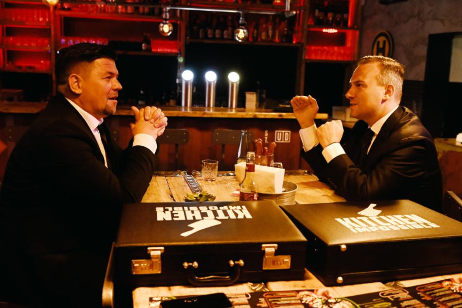 Die beiden Köche duellierten sich bereits zum fünften Mal in der Sendung.