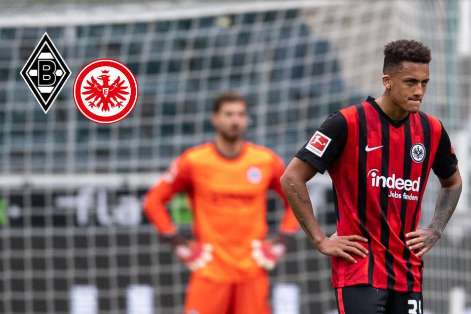 Eintracht Frankfurt geht nach Hütter-Schock in Gladbach unter!