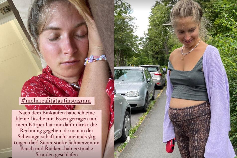 Charlotte Weise (28) ist bereits in der 14. Schwangerschaftswoche.