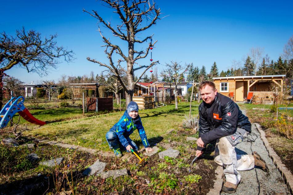 Chemnitz: Großes Glück in kleinen Gärten trotz Ausgangs- und Kontaktsperre!