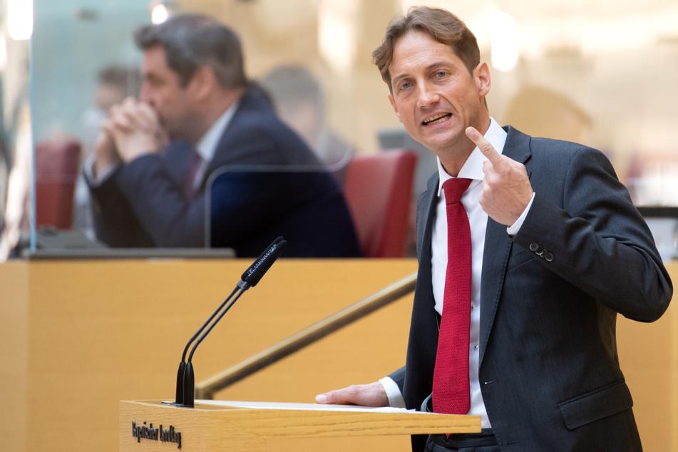 """Ingo Hahn (50) ist der Vorsitzende der AfD-Fraktion im bayerischen Landtag und kein Fan des """"Bündnisses für Toleranz""""."""
