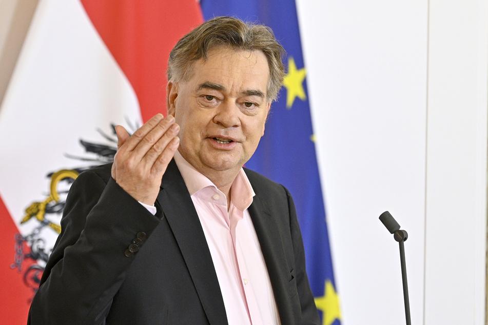 Werner Kogler (Die Grünen), Vizekanzler von Österreich.