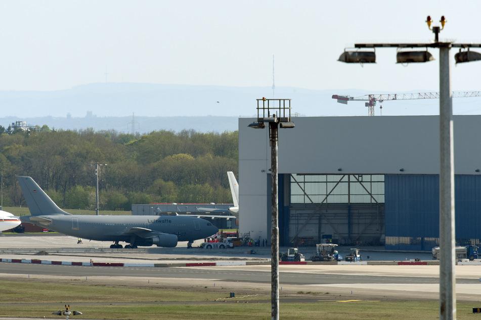 Der Airbus A310 MedEvac der Luftwaffe ist am Flughafen Köln/Bonn stationiert.