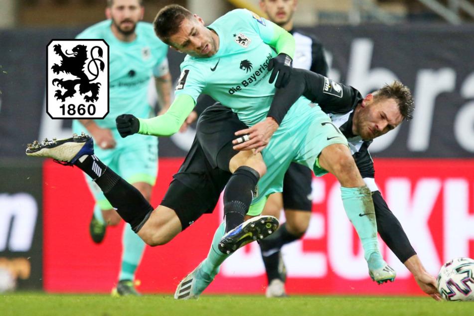 Viel Kampf, viel Krampf! TSV 1860 muss sich gegen SC Verl mit Remis begnügen