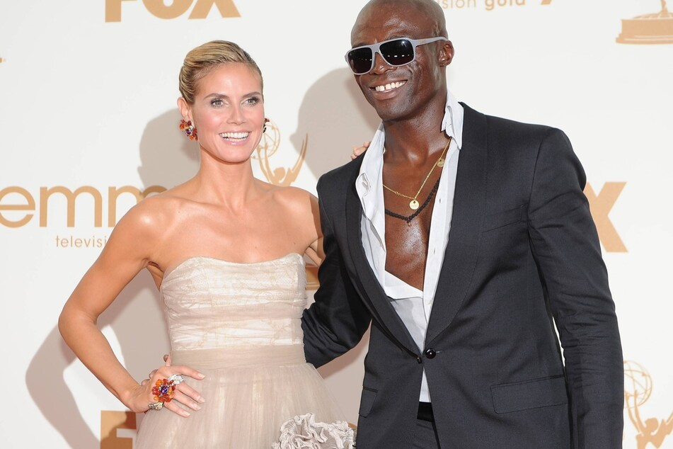Still happy in 2011: Heidi Klum and Seal (57) were together for eight years.