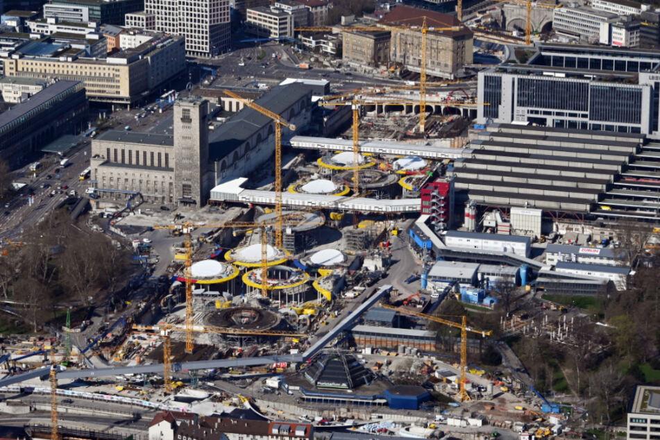 Mehrere Arbeiter auf der Stuttgart 21-Baustelle sind mit dem Coronavirus infiziert worden. (Symbolbild)