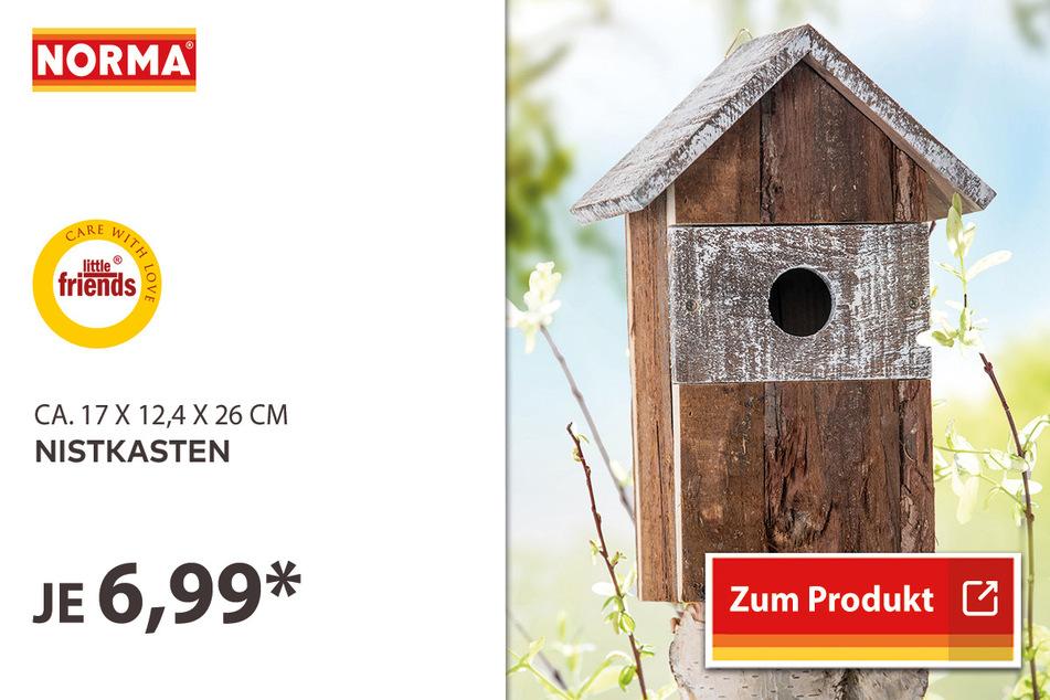 Nistkasten für 6,99 Euro