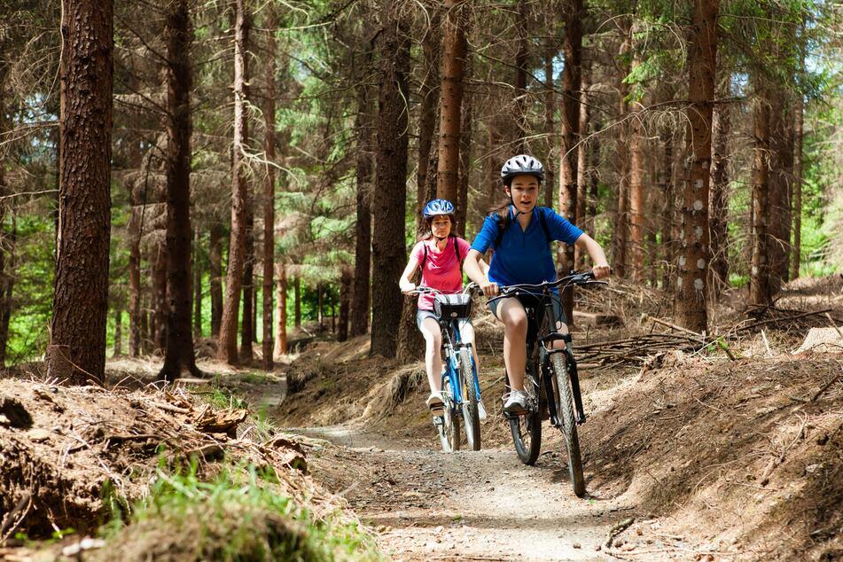 Radtouren kann man auch im Herbst und während des Corona-Lockdowns machen.