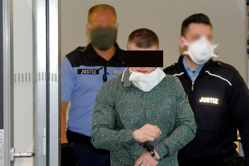 Autodieb Daniel Z. (24) aus Polen kam und ging in Handschellen.