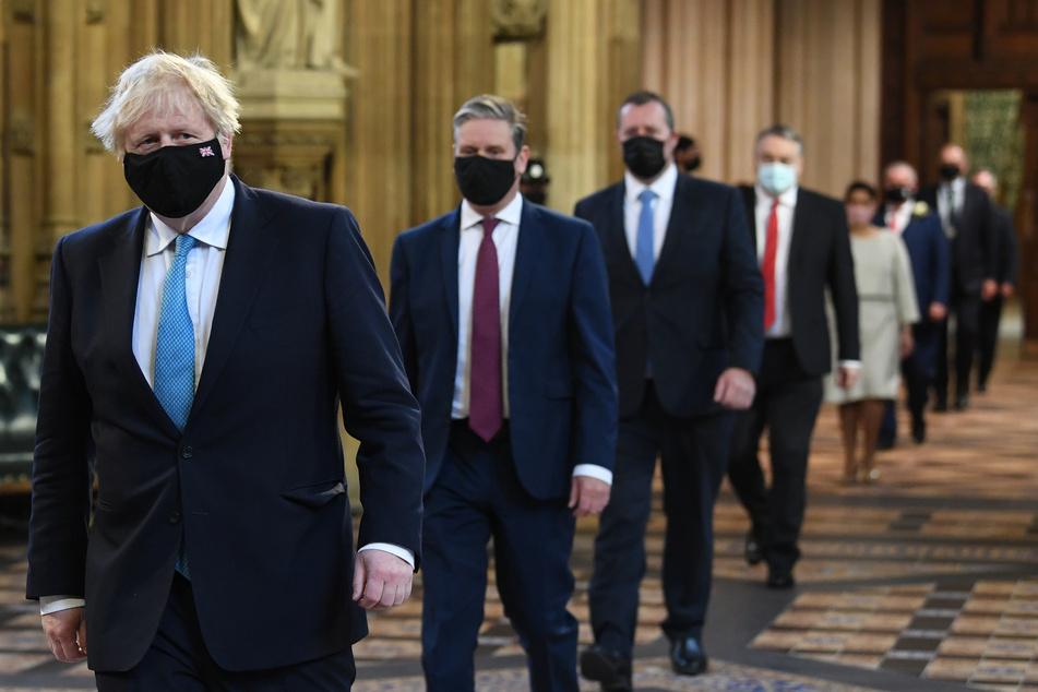 Der konservative Regierungschef Boris Johnson (56) plant ein neues Polizeigesetz.