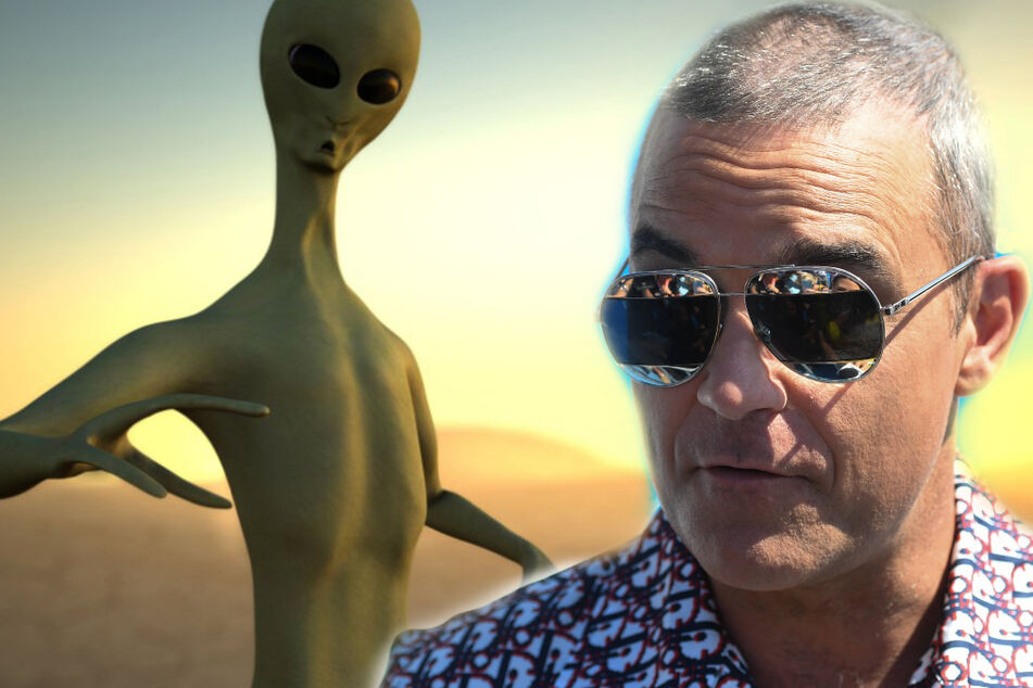 Man claims he and Robbie Williams were abducted by aliens