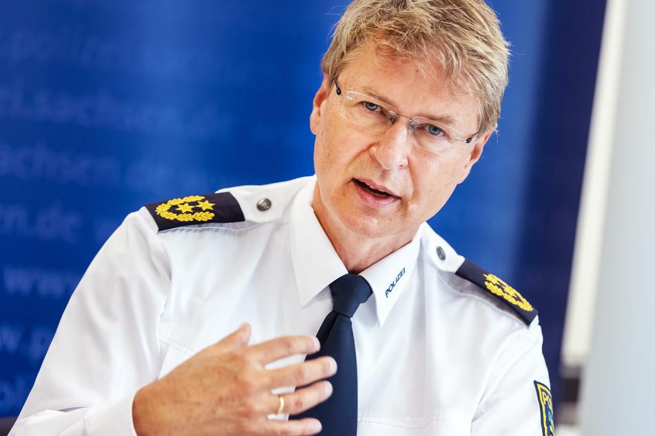 Polizeipräsident Lutz Rodig (57).
