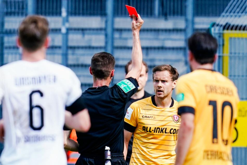 War die Tätlichkeit in Sandhausen, für die Chris Löwe die Rote Karte sah, seine letzte Aktion als Profi?