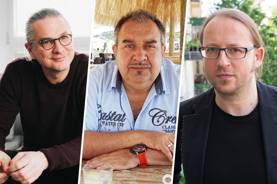 V.l.n.r.: Christian Beeck (49), Jürgen Heinemann (57) und Tobias Saalfeld (53).