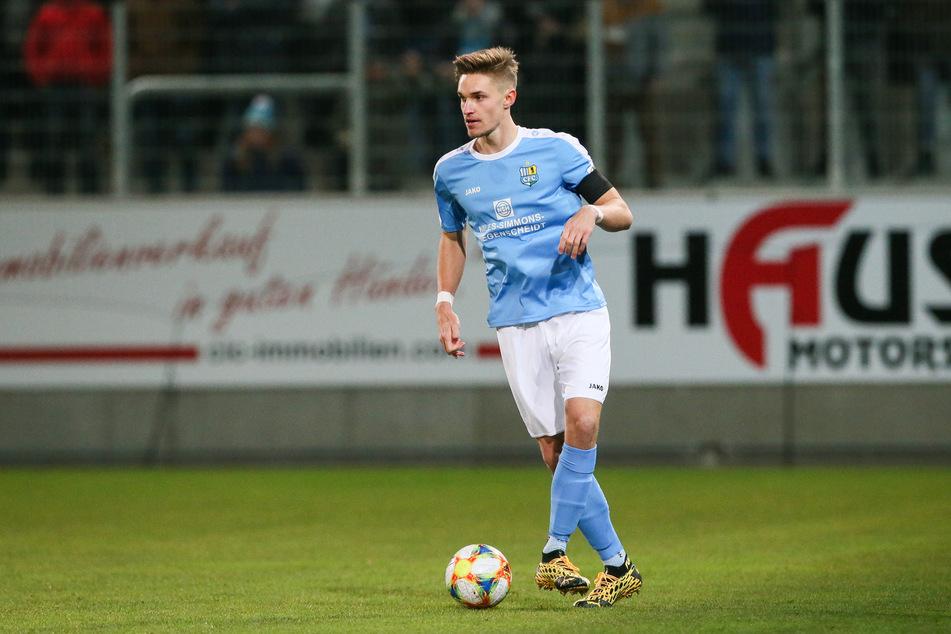 CFC-Abwehrspieler Sören Reddemann wird Vater (Archivbild).