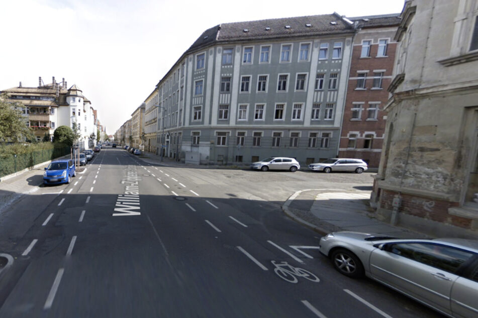 Der Raub ereignete sich auf der William-Zipperer-Straße im Leipziger Westen.