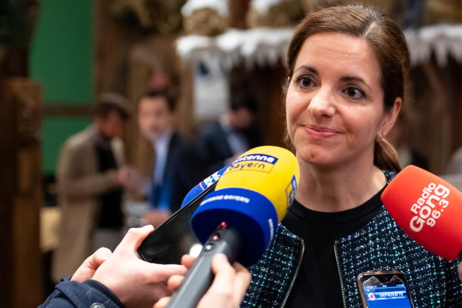 Kristina Frank, Oberbürgermeisterkandidatin der CSU.