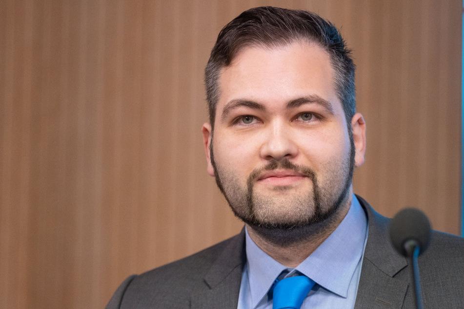Ruben Rupp (31), Landtagsabgeordneter der AfD in Baden-Württemberg, klagte gegen die Testpflicht für Nicht-Immunisierte und scheiterte.