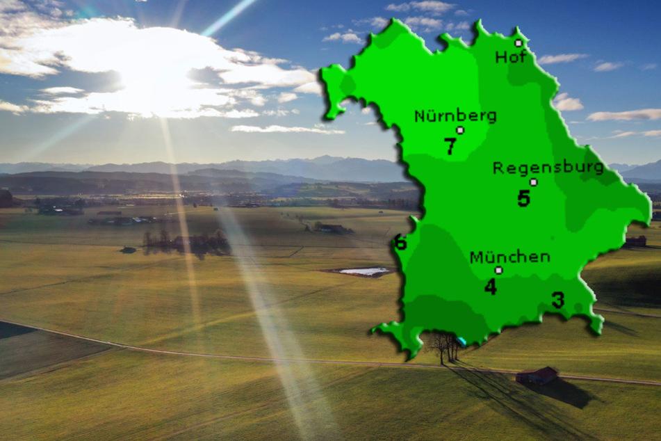 Wetter in Bayern bleibt trüb und neblig, doch die Sonne bahnt sich ihren Weg