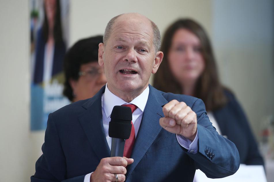 Olaf Scholz (SPD), Vizekanzler und Bundesfinanzminister und designierter Kanzlerkandidat.