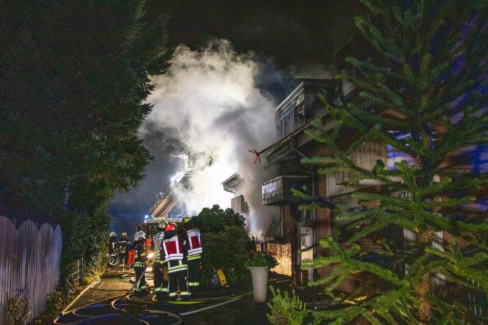 Am Donnerstagabend gab es einen tödlichen Brand in einem Reihenhaus in Kaarst.