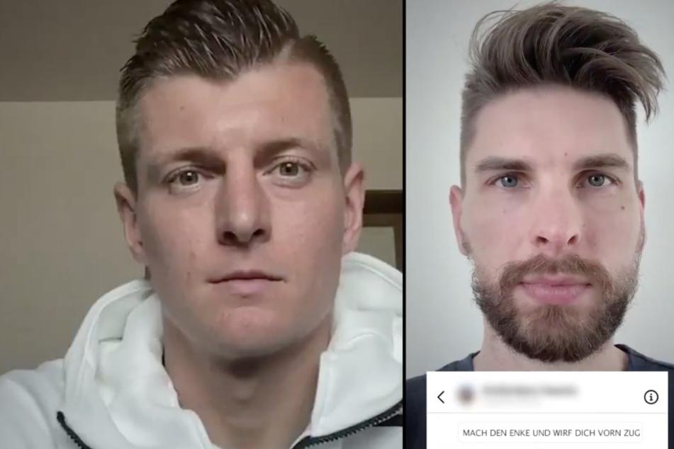 """""""MACH DEN ENKE UND WIRF DICH VOR DEN ZUG"""": Fußballer lesen Hass-Kommentare aus dem Netz vor - das ist der Grund"""