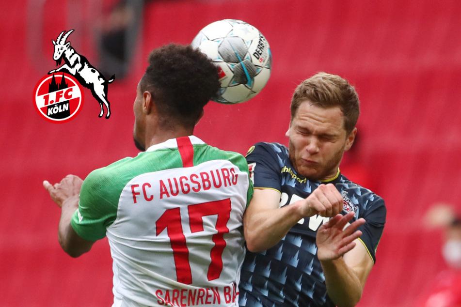 1. FC Köln schenkt Führung in Augsburg in turbulenter Schlussphase her!
