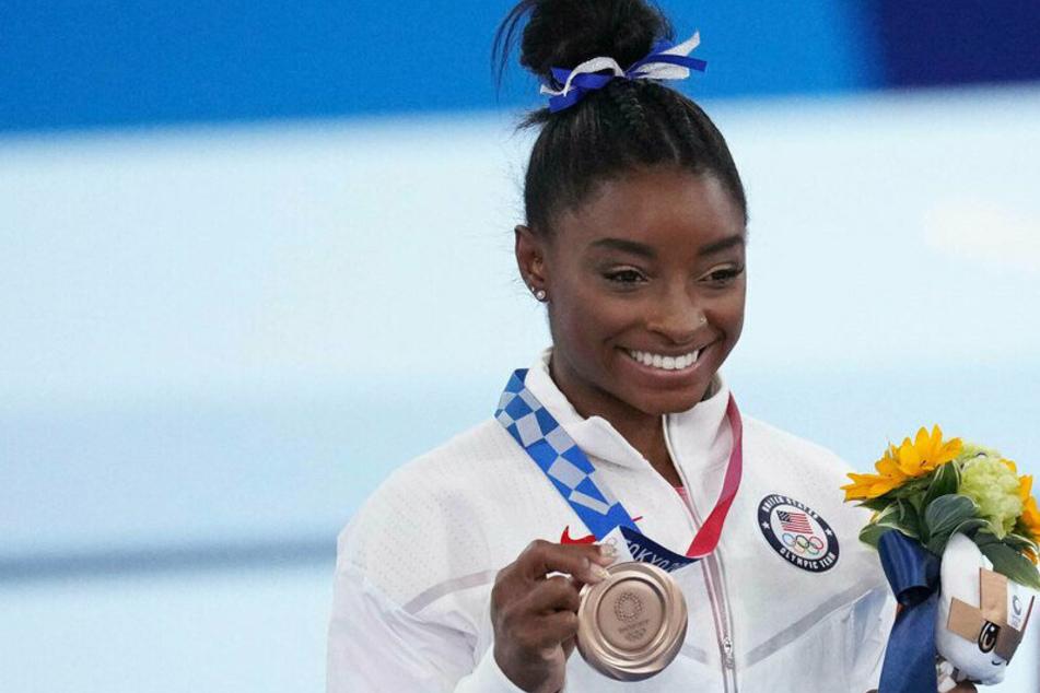 Olympics: Simone Biles makes big comeback and bags bronze medal in balance beam final