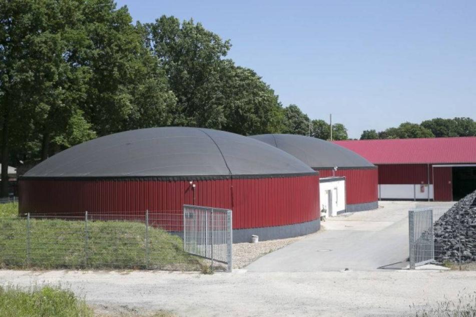 Unbekannter verübt Anschlag auf diese Biogasanlage