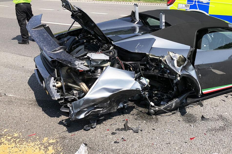 275.000-Euro-Lamborghini nur 20 Minuten nach Kauf geschrottet