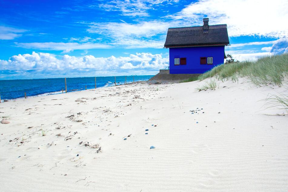 Der Strand von Heiligenhafen.