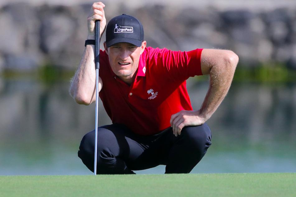 Golf-Profi Sebastian Heisele kann gerade nicht trainieren.