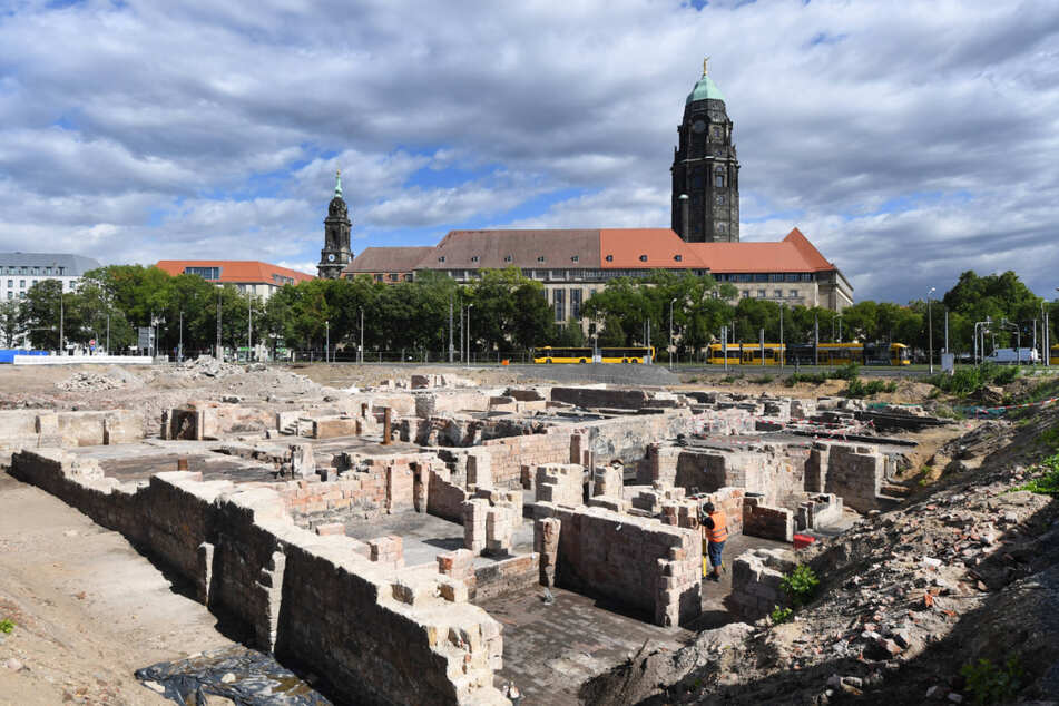 Dresden diskutiert Brunnen für Ferdinandplatz, obwohl noch kein Stein im neuen Viertel gesetzt wurde