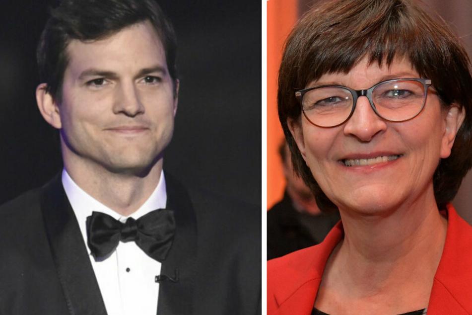 Nanu? Ashton Kutcher twittert öffentlich deutsche SPD-Politikerin an