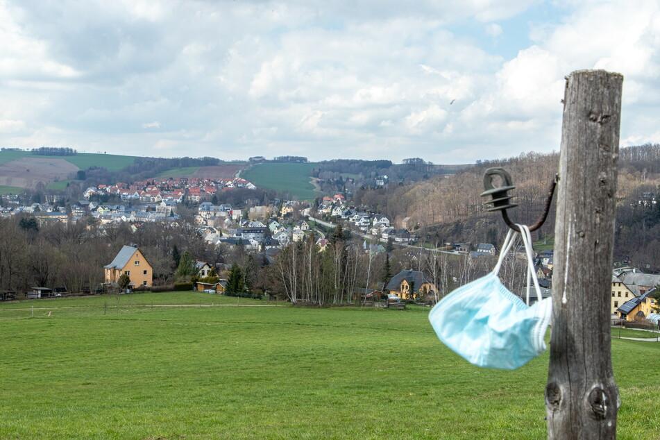 Die Idylle Burkhardtsdorf im Erzgebirge hatte zuletzt zeitweise eine Inzidenz von über 1000.