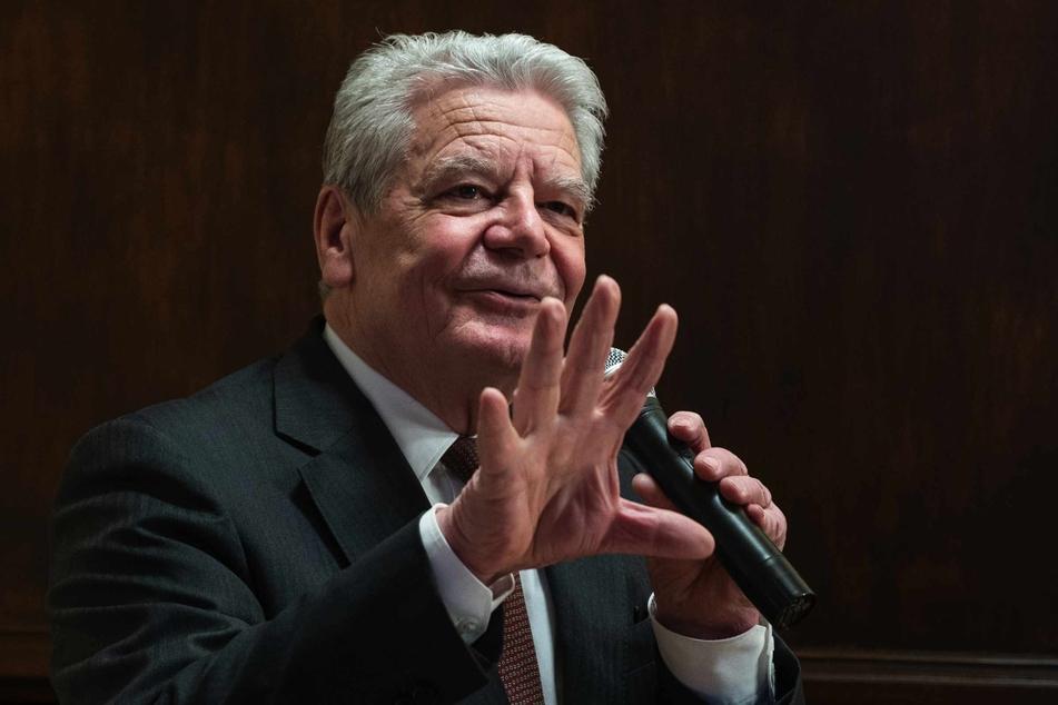 """Alt-Bundespräsident Joachim Gauck greift Impfgegner an: """"Bekloppte!"""""""
