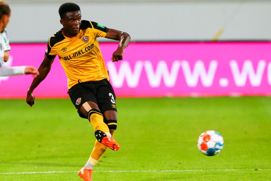 Michael Akoto (24) fehlt Dynamo Dresden verletzt. Wer wird ihn wohl ersetzen?