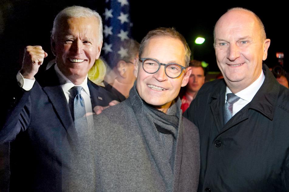 """Müller und Woidke gratulieren Biden zum Wahlsieg: """"Glückwunsch an den aufrechten Demokraten"""""""
