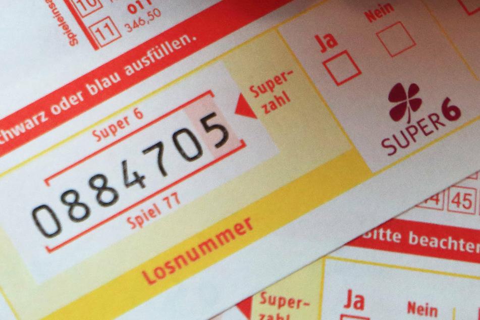 """Das Kreuz bei der Teilnahme an der Zusatzlotterie """"Super 6"""" hat dem Tipper aus Havelland den großen Gewinn gebracht. (Symbolfoto)"""
