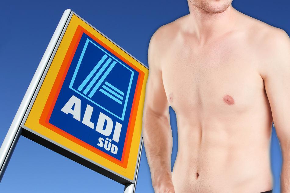 Mann (28) reißt sich Klamotten vom Leib, dann rennt er nackt und schreiend Richtung Aldi