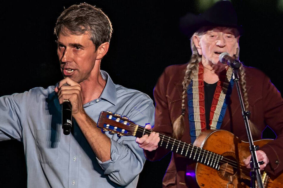 Willie Nelson and Beto O'Rourke join forces to raise money for Texas Democrats in DC