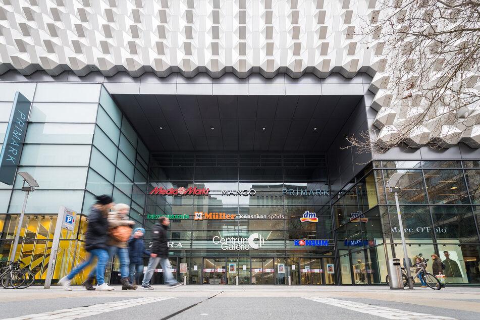 Es haben kaum mehr Geschäfte in der Centrum Galerie geöffnet.
