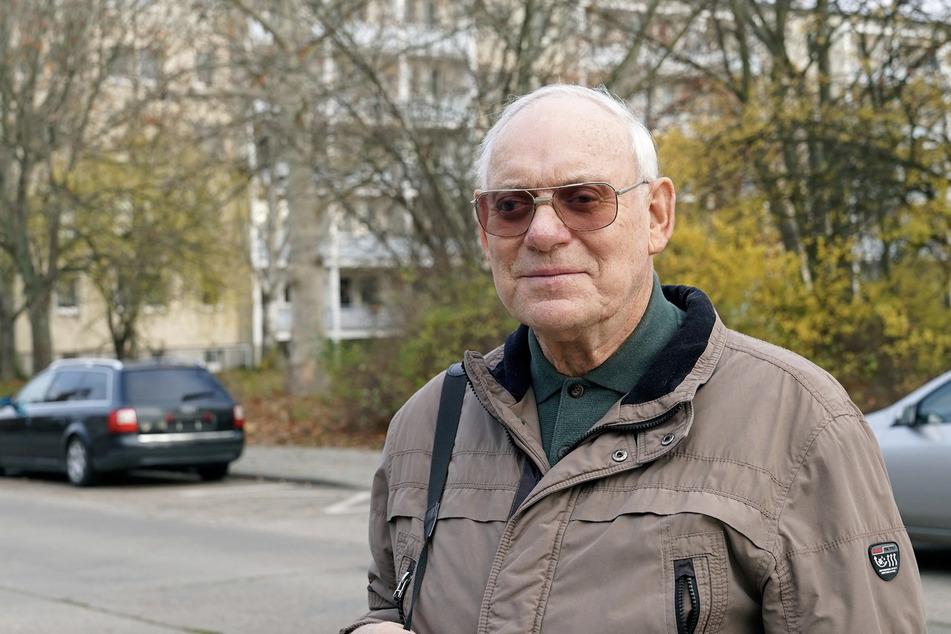 Hans-Joachim Lösche (76) kam 1966 wegen der Arbeit nach Wolfen-Nord und bezeichnet die Siedlung heute als seine Heimat.