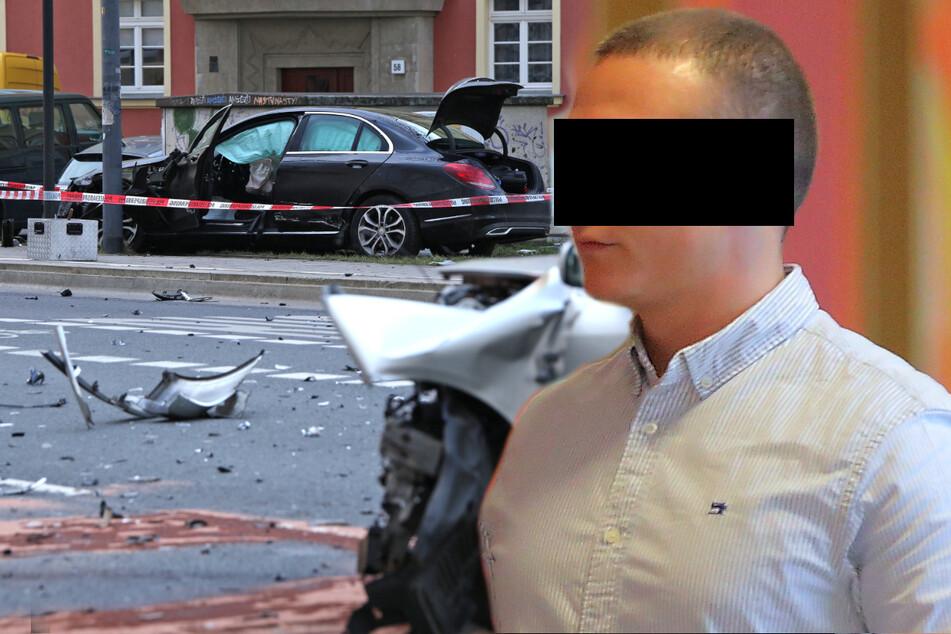 """Ohne Fleppen Unfall gebaut: Bruchpilot schiebt alles auf erfundenen """"Autodieb"""""""
